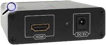 KONWERTER HDMI VGA AU