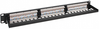 PATCH PANEL RJ 45 PP 24 RJ6 C