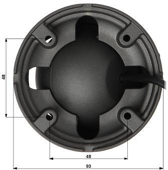 KAMERA WANDALOODPORNA HD CVI APTI Y1V2 36 720p 3 6 mm