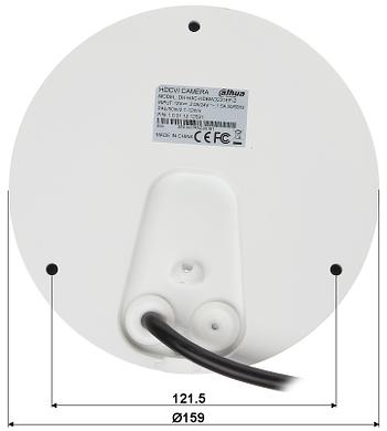 KAMERA WANDALOODPORNA HD CVI PAL DH HAC HDBW3231EP Z 1080p 2 7 12 mm MOTOZOOM DAHUA