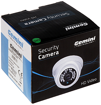 KAMERA IP GT CI11V1 28W 720p 2 8 mm GEMINI TECHNOLOGY