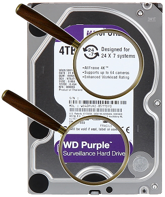 DYSK DO REJESTRATORA HDD WD40PURZ 4TB 24 7 WESTERN DIGITAL