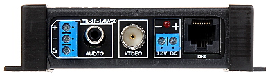 TRANSFORMATOR VIDEO AUDIO TR 1P 1AU 50