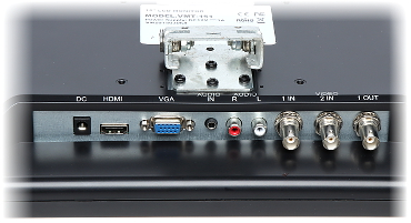 MONITOR VGA 2xVIDEO HDMI AUDIO VMT 151 15 VILUX