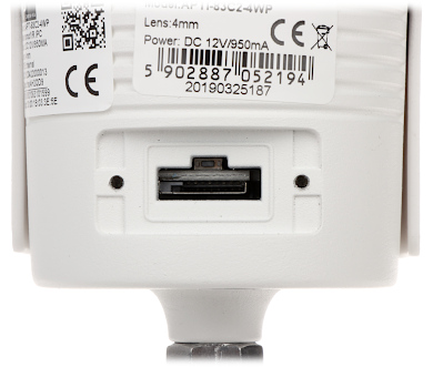KAMERA IP APTI 83C2 4WP 8 3 Mpx 4K UHD 4 mm