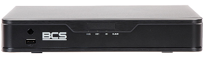 REJESTRATOR IP BCS P NVR0801 4K 8P 8 KANA W 8 PORTOWY SWITCH POE 4K UHD BCS POINT