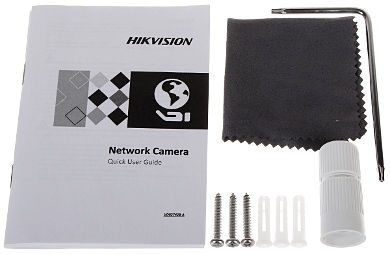 KAMERA WANDALOODPORNA IP DS 2CD2122FWD IS 2 8mm T 1080p Hikvision