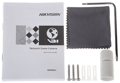 KAMERA WANDALOODPORNA IP DS 2CD2145FWD I 2 8mm 4 Mpx Hikvision