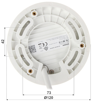 KAMERA WANDALOODPORNA IP DS 2CD2543G0 IS 2 8mm 4 Mpx Hikvision
