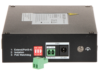 SWITCH PoE DS 3T0306HP E HS 5 PORTOWY SFP Hikvision
