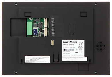 ZESTAW WIDEODOMOFONOWY DS KIS701 B D Hikvision