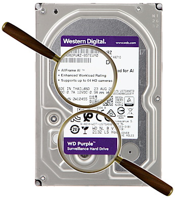 DYSK DO REJESTRATORA HDD WD82PURZ 8TB 24 7 WESTERN DIGITAL
