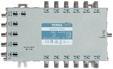 MULTISWITCH MV 524 5 WEJ 24 WYJ CIA TERRA
