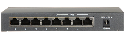 Switch PoE TL SF1008LP TP LINK 8 PORTOWY