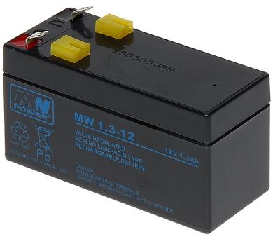 12V/1.3AH-MW