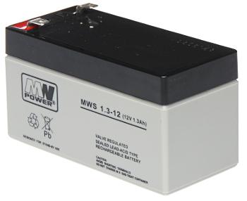 12V/1.3AH-MWS