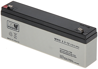 12V/2.3AH-MWS