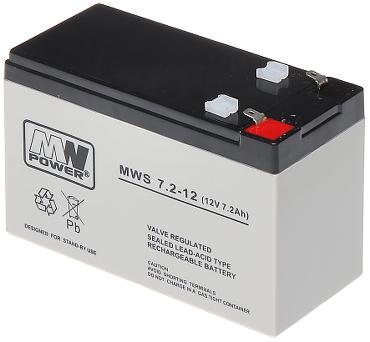 12V/7.2AH-MWS