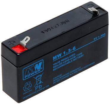 6V/1.3AH-MW