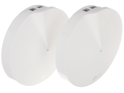 DOMOWY SYSTEM WI FI TL DECO M9 PLUS 2 PACK 2 4 GHz 5 GHz 400 Mb s 867 Mb s TP LINK