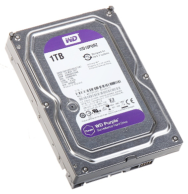 DYSK DO REJESTRATORA HDD WD10PURZ 1TB 24 7 WESTERN DIGITAL