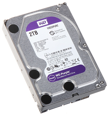 DYSK DO REJESTRATORA HDD WD20PURZ 2TB 24 7 WESTERN DIGITAL