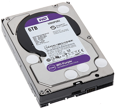 DYSK DO REJESTRATORA HDD WD60PURZ 6TB 24 7 WESTERN DIGITAL