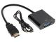 HDMI/VGA+AU-ECO-3
