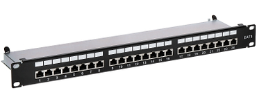PATCH PANEL RJ 45 PP 24 RJ6 C FTP