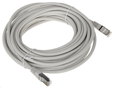 PATCHCORD RJ45 FTP6 10 GY 10 m