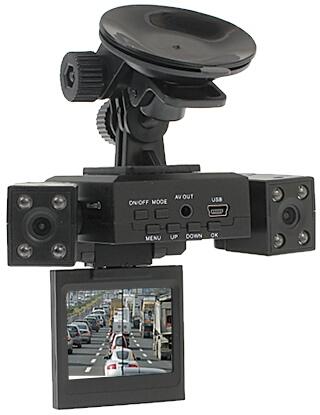 e665af1c069b56 Rejestrator trasy 2-kamery monitor CCDO-1280